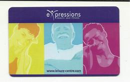 "United Kingdom,  Exeter, ""Expression"", Riverside Leisure Center. - Gift Cards"