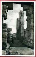 CPSM Format CPA Egypte Karnak The Heraldic Pillars Lehnert & Landrock - Ohne Zuordnung