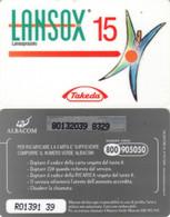 *ITALIA: ALBACOM - LANSOX 15* - Scheda Usata - Schede GSM, Prepagate & Ricariche