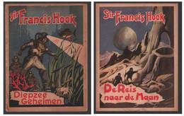 K. (=Karlos) 1948: Verne: Francis Hook: Diepzee Geheimen + De Reis Naar De Maan - Altri