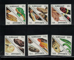 SURINAM- Yvert N° 1231 / 42. FAUNE  Serpents. - Surinam