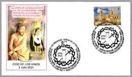 Imagenes SEÑOR DE LA COLUMNA Y VIRGEN DE LOS DOLORES. Icod De Los Vinos, Canarias, 2021 - Cristianesimo