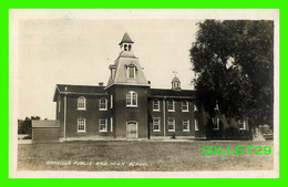 OAKVILLE, ONTARIO - PUBLIC AND HIGH SCHOOL -  TRAVEL IN 1908 - - Otros