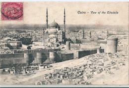 CAIRO  (  LE CAIRE  )   -  Egypte  -    View  Of  The  Citadelle    - - Kairo