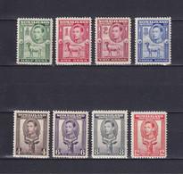 SOMALILAND 1938, SG# 93 - 100, CV £50, Short Set, Personalities, Animals, MH - Somaliland (Protectorate ...-1959)