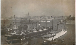 Thème -bateaux - Divers Bateau à Vapeur Et à Voile - Lieu à Identifier - Autres