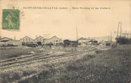 H1510 - SAINT GERMAIN LAVAL - D42 - Gare Pralong Et Les Ateliers - Saint Germain Laval