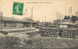 H1510 - SAINT CHAMOND - D42 - Gare - Vue Intérieure - TRAIN - Saint Chamond