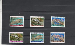 Madagascar Yvert Série 523 à 528 ** Sans Charnière - Caméléons - Madagascar (1960-...)