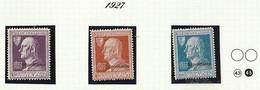 Italia Colonie Tripolitania 1927 A.Volta - Franc. D'Italia Soprastampati  Sassone SERIE N. 12 Mnh - Tripolitania