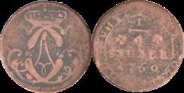 Allemagne - Archevêché De Cologne - 1760 - 1/4 Stuber - Clemens August Von Bayern - H103 - Taler & Doppeltaler