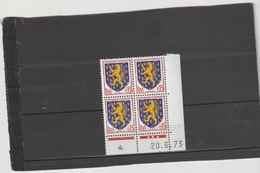N° 1354 - 0,15 NEVERS - J De J+K - 2° Tirage Du 23.5.73 Au 2.7.73 - 20.6.1973 - - 1970-1979
