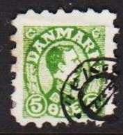 1913. DANMARK. 5 øre Christian X. Mini Stamp From Childrens Post Office.  (michel 67) - JF510129 - Used Stamps