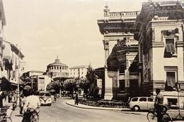 Cartolina - Salsomaggiore - Terme Berzieri E Piazza - 1957 - Parma