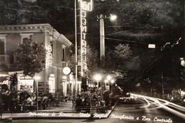 Cartolina - Miramare Di Rimini - Viale Regina Margherita E Bar Centrale - 1955 - Rimini