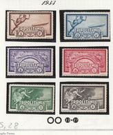 Italia Colonie Tripolitania 1933 Crociera Zeppelin   Sassone Serie N.28 MNH - Tripolitania