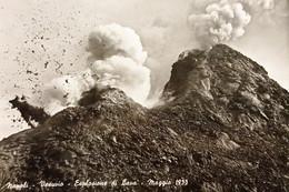 Cartolina - Napoli - Vesuvio - Esplosione Di Lava - Maggio 1933 - 1955 - Napoli