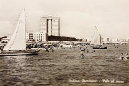 Cartolina - Milano Marittima - Vele Al Mare - 1962 - Ravenna