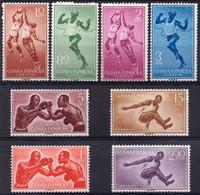 GUINEA ESPAÑOLA :1958: Y.LP/PA36-40*** Postfris/neufs/MNH :  SPORTS,BOXING,BASKET-BALL,LONG JUMP,RUNNING. - Non Classificati