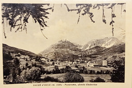 Cartolina - Sauze D'Oulx - Panorama Sfondo Chaberton - 1958 - Non Classificati
