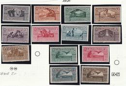 Italia Colonie Tripolitania 1930 Virgilio-francobolli D'Italia In Colori Cambiati Soprastampati    Sassone Serie N.20a - Tripolitania