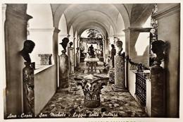 Cartolina - Ana-Capri - San Michele - Loggia Delle Sculture - 1960 - Napoli