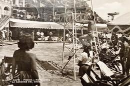 Cartolina - Capri - Piscina E Ristorante La Canzone Del Mare - 1955 - Napoli