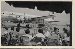 Photo Originale - Sur L'Aeroport D'Amsterdam - Solipool - Juillet 1953. - Aeródromos
