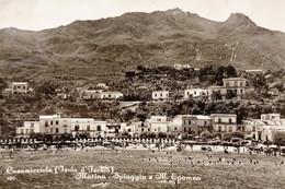 Cartolina - Casamicciola ( Isola D'Ischia ) - Marina - Spiaggia E M. Epomeo 1955 - Napoli