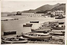 Cartolina - Lacco Ameno ( Ischia ) - Spiaggia E Fungo - 1957 - Napoli