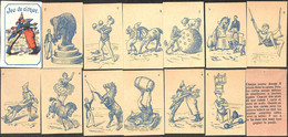 13 Petites Cartes à Jouer - Jeu Du Cirque - Autres