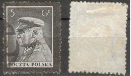 POLAND POLEN POLOGNE 1935  Mi 294 MARSHALL  PILSUDSKI  - USED - Usati
