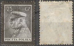 POLAND POLEN POLOGNE 1935  Mi 296 MARSHALL  PILSUDSKI  - USED - Usati