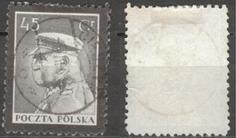 POLAND POLEN POLOGNE 1935  Mi 297 MARSHALL  PILSUDSKI  - USED - Usati