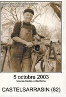Carte Postale: Bourse Toutes Collections, 2003, CASTELSARRASIN (82), Chaudronnier-ferblantier - Esposizioni