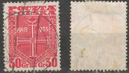 POLAND POLEN POLOGNE 1933 Mi 284  - USED - Usati