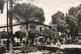 Cartolina - Milano Marittima - Cervia - Piazzale Napoli - 1958 - Ravenna