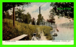 LONDON, ONTARIO - POWER HOUSE, SPRINGBANK - ANIMATED WITH A KID - TRAVEL - WARWICK BRO's & RUTTER LIMITED - - London