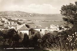 Cartolina - Ancona - Panorama E Il Porto - 1950 - Ancona