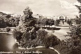 Cartolina - Salsomaggiore - Parco E Stazione Ferroviaria - 1951 - Parma
