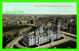 OTTAWA, ONTARIO - EASTERN BLOCK PARLIAMENT BUILDINGS AND CITY - TRAVEL - THE VALENTINE & SONS PUB. - - Ottawa
