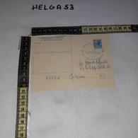 FB11254 GENOVA 1978 CARTOLINA POSTALE TIMBRO ANNULLO NAVE AMERIGO VESPUCCI IL MARE DEVE VIVERE - 1971-80: Storia Postale