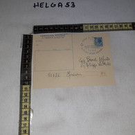 FB11255 GENOVA 1978 CARTOLINA POSTALE TIMBRO ANNULLO NAVE AMERIGO VESPUCCI IL MARE DEVE VIVERE - 1971-80: Storia Postale