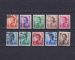 HONG KONG 1962/73, SG# 196-205, Short Set, Elizabeth II, Used - Used Stamps