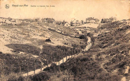 Heist - Heyst - Sentier à Travers Les Dunes (Nels 1924) - Heist