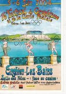 Carte Postale: 16ème Festival De La Carte Postale, 2004, ENGHIEN Les BAINS Val D'Oise (95) - Esposizioni