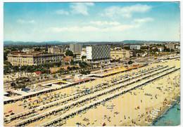 RICCIONE - PANORAMA DELLA SPIAGGIA - RIMINI - 1962 - Rimini