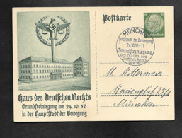 DR GA München Haus Des Deutschen Rechts SSt - Militaria