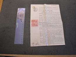 OLLIOULES - VAR - 22/9/42-DECLARATION EN VUE DE RECLAMER LA QUALITE DE FRANCAIS NON JUIF DE TADDEI LOUIS CULTIVATEUR - Documenti Storici