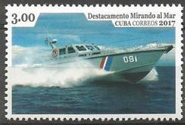 Cuba 2017 / Ships Antidrug MNH Barcos Antidroga Schiffe Bateaux / Cu5902  31-32 - Barche